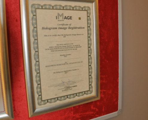 Holo Zertifikat